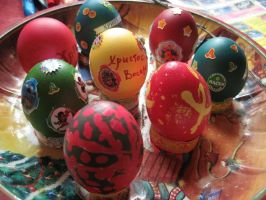 Easter eggs by Evanescent-beauty