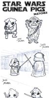 Star Wars Guinea Pigs by JoeGPcom