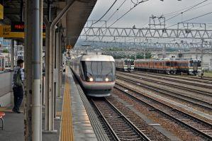 Japan Railways Limited Express Shinano by overmoder