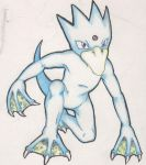Old Golduck by TurtieDroppings