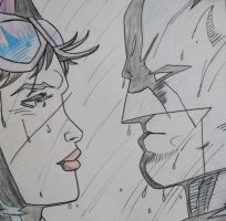 Catwoman and Batman by Mad-Jim-McKracken