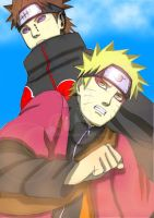 Naruto And Pain 3 by aNiMe0919