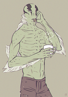 Coffee and Abe by nom-nom-pancake