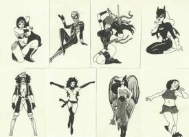 Girl heroes by marspoissons