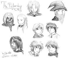 the fellowship of the ring by elendraug