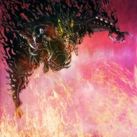 Baptized in the Black Flames of Hades by MrTuke