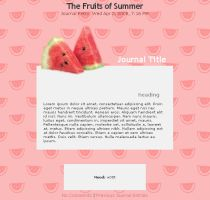 The Fruits of Summer by jimmy-tm