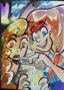 [ACEO] Kamala and Tilly by stellarknight3