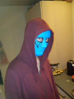 Me as eyeless jack (halloween costume) by HorseWolfLover