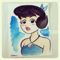 Betty from The Flintstones by ChibiCelina