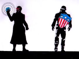 Captain America by Philanthropic-Racoon