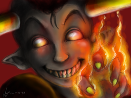 Halloween Fires by Oldeforce
