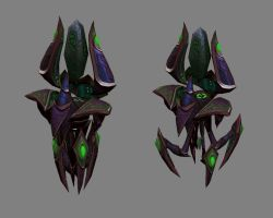Protoss Phase Prism ver.1 by PhillGonzo