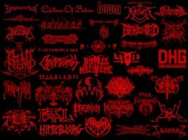Metal logo band by emoex