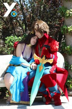 Bravely Default Cosplay - Tiz and Agnes 3 by Yo-Cosplay