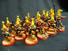 Fire Dragons of the Eldar by Solav