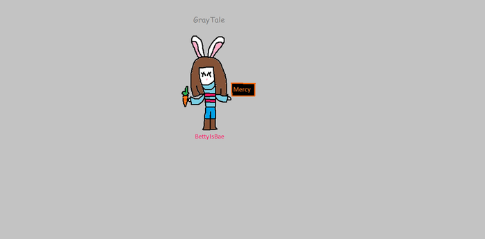 drawing request - Bunny frisk by BettyIsBae