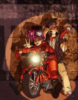 Moped Cover Full Colors 1 by PaulSizer