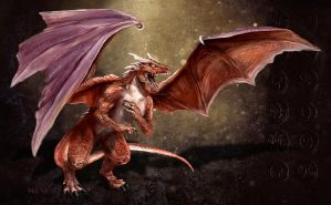 Dragon Wallpaper by Mely-Val