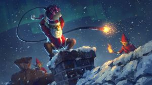 Explosive Christmas by Vablo