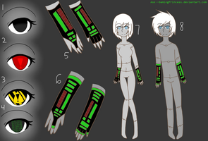 Virus Species .::Reference Sheet::. by Ask--GamingPrincess