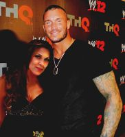 Randy Orton and Mickie James by Abbysaurus