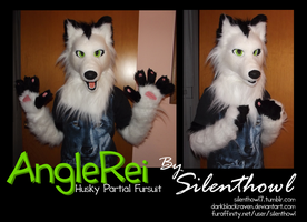 Husky Fursuit - AngleRei by Silenthowl7