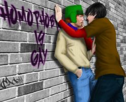 SP: Style - Homophobia is... by cacell