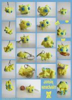 Joltik Keychain by Ink--It