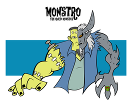 Monstro by Cartoonray