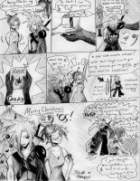 Merry Christmas, Cloud by PileofManga