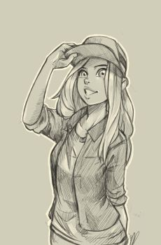 Hat Sketch by devpose