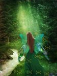 Lady of the Forest by MariaBeloArt