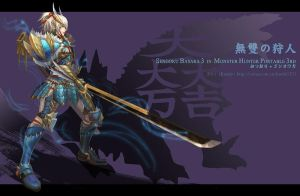 Mitsunari in MHP3 by Remontant