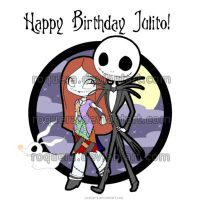 The Nightmare Before Birthdays by roquera