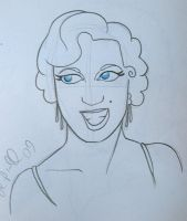 Marilyn by syxx