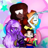We, are the crystal gems by Sushilover218er