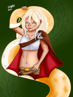 Gaia commission: Mother Luck by BasicVanilla