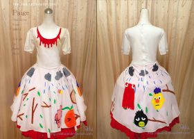 Don't hug me i'm scared Paige Cosplay dress by DeluCat