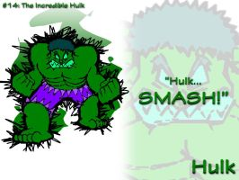 AMPicture #14: Hulk by AmpleDeviant