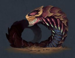 Worm Beast by ThranTantra