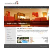 GRUP Immobiliari Website by dellustrations