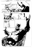 Superman 710 Page 19 Inks by JPMayer