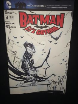 Batman sketch cover by kevtoons