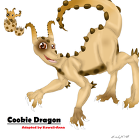 Cookie Dragon Hatched - Kawaii-Anna by Emilyh148