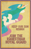 Pony Propaganda: Keep Our Sun Rising! by Shrineheart