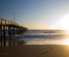 The Early Bird gets the Pier by Ringersma