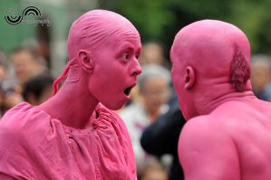 Pink people by lalylaura