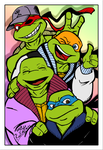 TMNT- All The Best by theblindalley