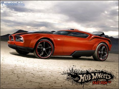 Hot Wheels Fast Fish by Jakusa1